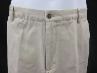 STAFFORD SIGNATURE Mens Khaki Pants Size 36X30