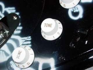 Metallica Kirk Autographed Signed Ouija Guitar & Proof PSA/DNA UACC RD