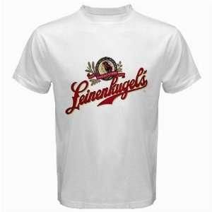 Leinenkugel Beer Logo New White T Shirt Size  S, M ,L , XL , 2XL