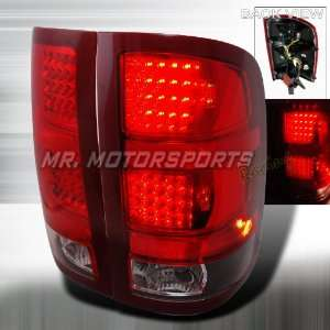 GMC SIERRA LED TAIL LIGHTS BLACK Automotive