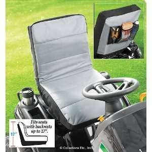 Lawn Tractor Seat Cover With Pocket