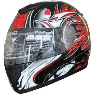 Adult Full Face Sports Motorcycle Helmet DOT (509) 136