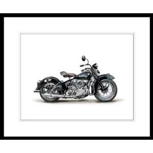 1946 Harley Davidson Model EL Knucklehead Painting. 11â