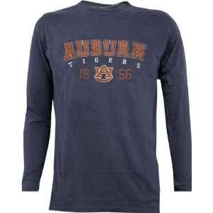 Auburn Tigers Pigment Dye Long Sleeve T Shirt  Sports