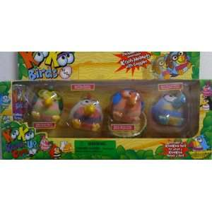 KooKoo Zoo Flocked Birds   4 Pack Everything Else