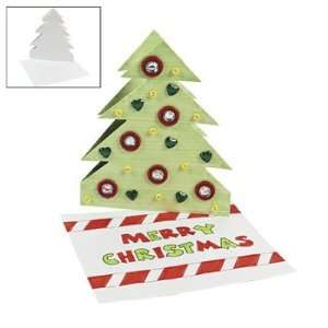 ... Design Your Own Christmas Tree Cards Craft Kits ...