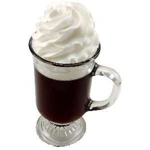 Irish Coffee GLASS Fake Drink