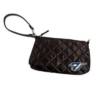 MLB Toronto Blue Jays Quilted Wristlet, Black Sports