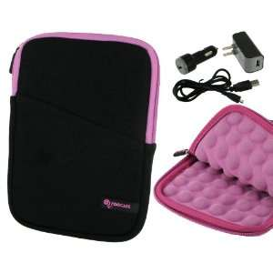 4n1 Super Bubble Neoprene Sleeve Case Cover with USB Data / Wall