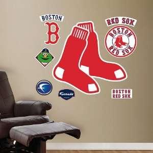 MLB Boston Red Sox Logo Fat Head