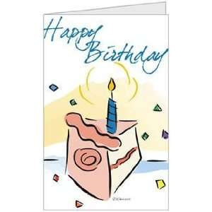 Birthday Boy Girl Niece Nephew Child Cake Greeting Card