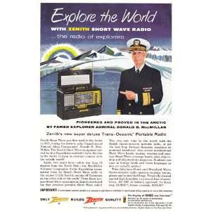 Zenith Short Wave Radio Explore the Wrold , MacMillan Zenith Books