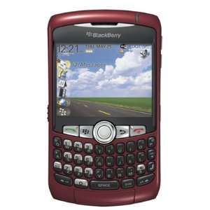 Blackberry Curve GSM Quadband QWERTY Phone (Unlocked) Red