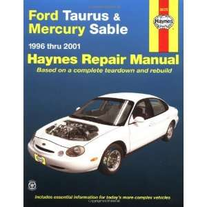 Ford Taurus & Mercury Sable 1996 2001 (Haynes Manuals