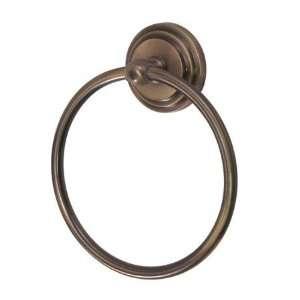 Designer Trimscape BA2714AB Milano 6 Towel Ring, Vintage