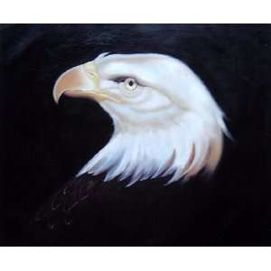 Head Of American Bald Eagle Oil Painting 20 x 24 inches