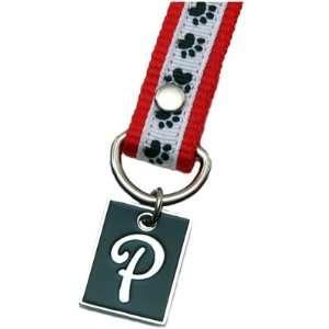 Dog Paw Print Letter P Pet Lover Charming KEYper Keychain