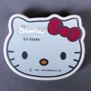 Hello Kitty Head Shaped Desk Basic Portable Calculator Electronics