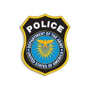MP Police Department of the Army US Sticker Everything