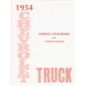 1954 CHEVROLET TRUCK Wiring Diagrams Schematics