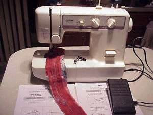 Brother Model VX1120 Zig Zag Sewing Machine