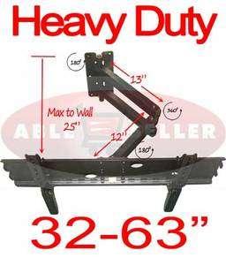 NEW ARTICULATING TILT LED LCD TV WALL MOUNT 32   63