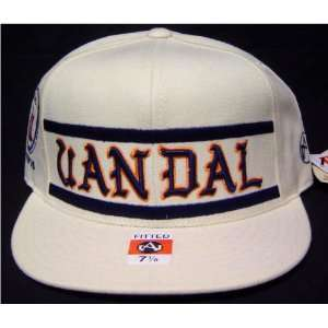 black fives Uandal Athletic Club Atlantic City Fitted Flat Bill Cap