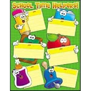 SCHOOL TIME HELPERS FRIENDLY CHART Toys & Games