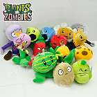 new Plants VS Zombies Soft Plush Toy With Sucker A full set of 12