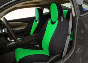 NEOPRENE SEAT COVERS FOR CHEVY CAMARO 2010 2011 2012 COUPE or CONV