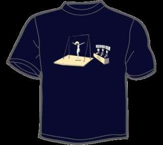 JESUS OLYMPICS GAMES T Shirt MENS funny vtg threadless