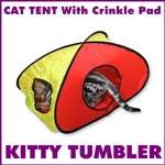 Cat, Kitten Tunnel and Tent for Funny play