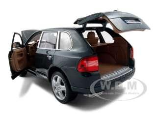 PORSCHE CAYENNE TURBO GREEN 118 DIECAST MODEL CAR