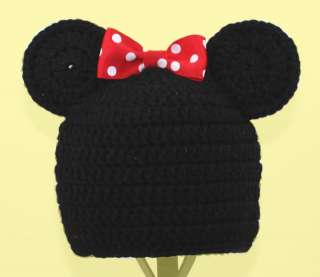 Minnie or Mickey Mouse Hat / Beanie Disney, Send Size