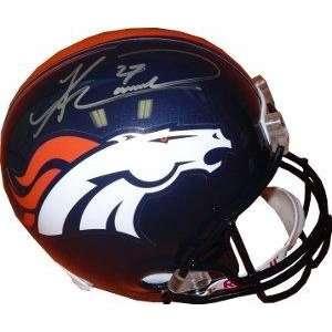 Knowshon Moreno signed Denver Broncos Proline Helmet   Autographed NFL
