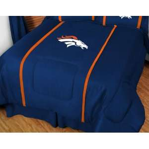Denver Broncos MVP Team Color Comforter   Full/Queen Bed
