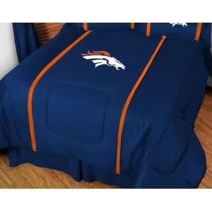 Denver Broncos MVP Team Color Comforter   Full/Queen Bed
