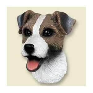 Jack Russell Terrier Dog Magnet   Roughcoat   Brown & Wh
