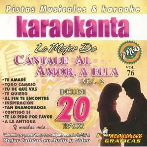 Karaokanta KAR 8076   Cantale Al Amor A Ella / Vol. 2 / Lo