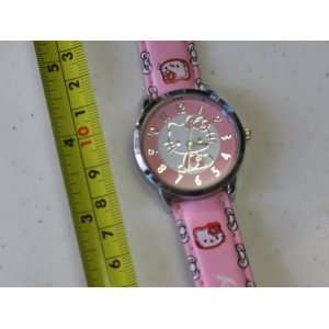 Hello Kitty Quartz Watch Light Pink Color