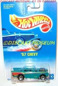 1957 57 CHEVY #213 MATTEL HOT WHEELS HW DIECAST