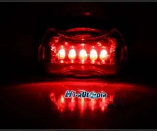 New Bike Bicycle 5 LED Head Light and Tail Rear Light