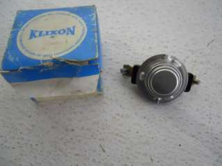 KLIXON S206H F170 2 SNAP DISC FAN THERMOSTAT