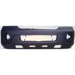 Navigator Primed Black Replacement Front Bumper Cover Automotive