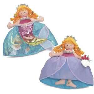 Little Mermaid Princess Topsy Turvy Doll Toys & Games