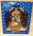 MOMENTS NATIVITY SET NEW IN BOX 2009 SALED MAKES A PERFECT GIFT |00256