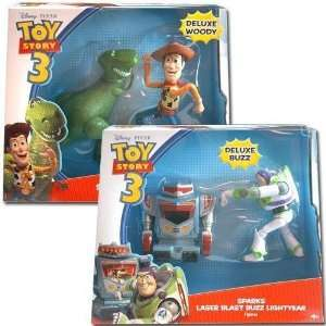 Toy Story 3 2 Pack Feature Figure Assorted Case Pack 3