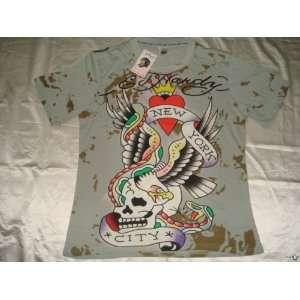Ed Hardy By Christian Audigier Mens Short Sleeve Shirt