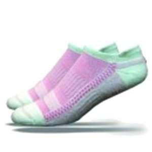 DeFeet Cloud 9 Pink Tabby Cycling/Running Socks   CL9TBP