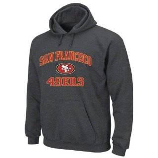 San Francisco 49ers Charcoal Heart and Soul II Hooded Sweatshirt